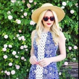 Lilly Pulitzer for Target Blue Fish Print Dress